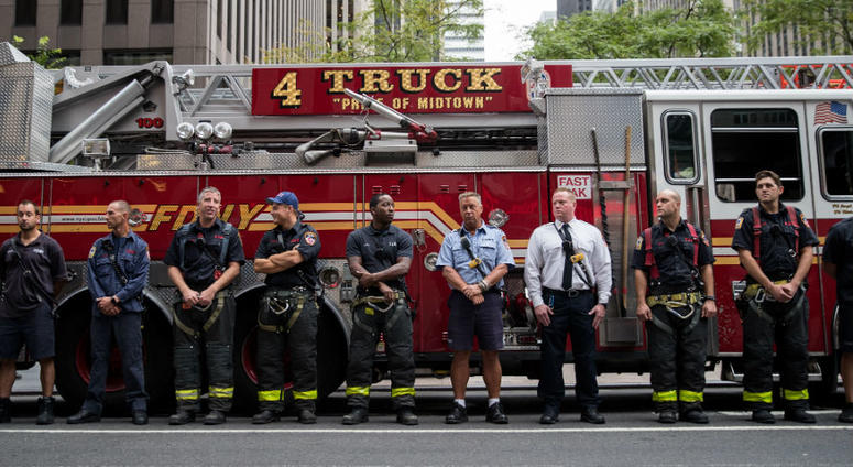 Navy SEAL is told he is too old to join FDNY.