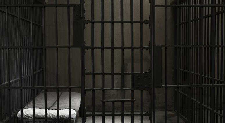 inside of a stark prison cell