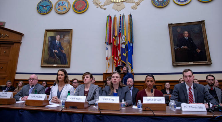 House Armed Services Committee Holds Hearing On Transgender Troops In The Military