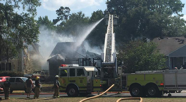 Nine Line house burns to ground in fire at Georgia home