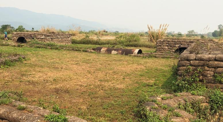 North Vietnamese Army fortifications