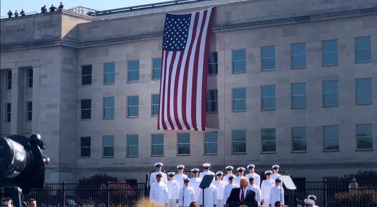 Trump at Pentagon