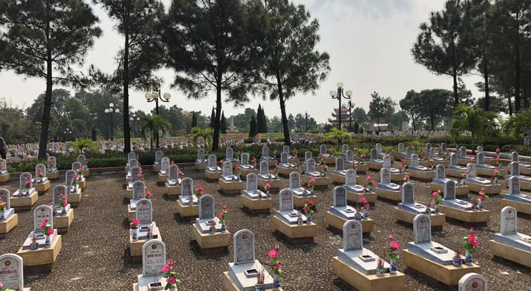 North Vietnamese Army Cemetery, Hanoi