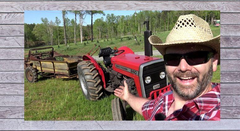 Air Force veteran Josh Draper is Stoney Ride Farmer on YouTube