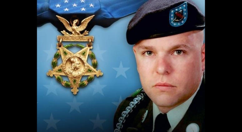 Army Staff Sgt. Travis Atkins posthumously awarded Medal of Honor for shielding a suicide bomber in Iraq.