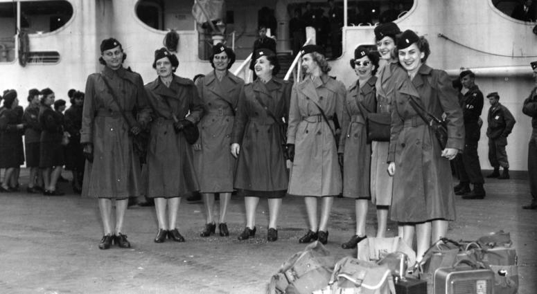 Women's Army Corps new officers