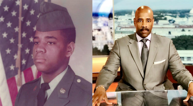 Meet the soldier turned TV news anchor