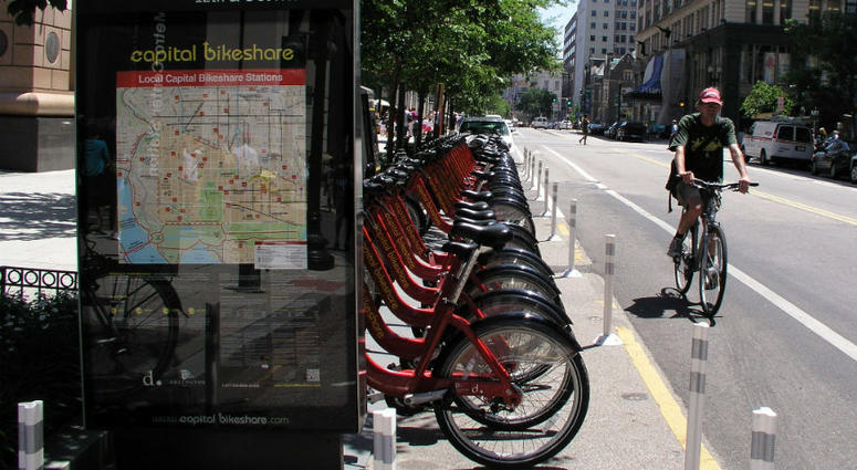 D.C. offers veterans a free Bikeshare membership.