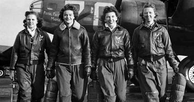 Women Airforce Service pilots during ferry training at Lockbourne Army Airfield, Ohio, 1944