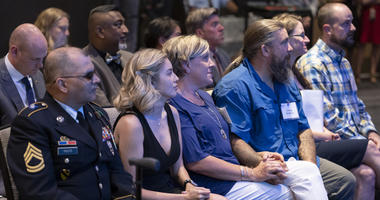 UMUC awards scholarships to caregivers of wounded warriors