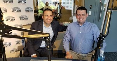VoteVets co-founder Jon Soltz and CVA Senior Advisor Dan Caldwell