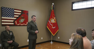 U.S. Marine Brig. Gen. Kurt W. Stein, Director of Marine and Family Programs, Nov. 2017