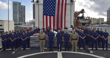 Coast Guard Cutter Seneca (WMEC-906) crew