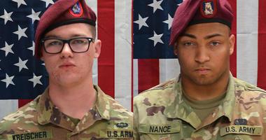 Spc. Michael Nance of Chicago, Ill. and Pfc. Brandon Kreischer  were both killed in Afghanistan.