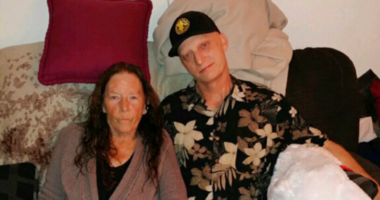 Michael R. White with his mother Joanne White