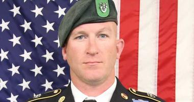 """Sgt. Maj. James G. """"Ryan"""" Sartor, 40, a Special Forces company sergeant major from Teague, Texas, and assigned to 10th Special Forces Group (Airborne), died Saturday, July 13, 2019, during combat operations in Faryab Province, Afghanistan."""