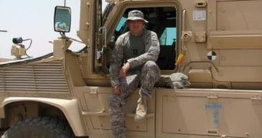 Donnie Isaacs in Afghanistan