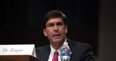 Secretarty of Defense Mark Esper