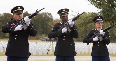 Rifle Squad, Fort Sam Houston National Cemeery