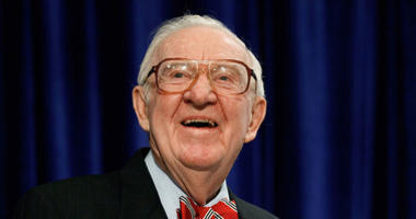 Former Supreme Court Justice and Navy veteran John Paul Stevens