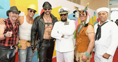 Village People at the 2017 Streamy Awards at The Beverly Hilton Hotel on September 26, 2017