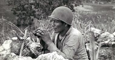 Navajo Code Talkers spoke victory to help win World War II.