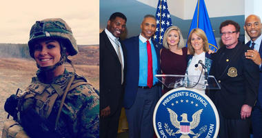 Holli Richmond served in the Marine Corps and now heads up the President's Council on Sports, Fitness, and Nutrition