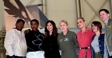 Brig. Gen. Jeannie Leavitt, Brie Larson, others