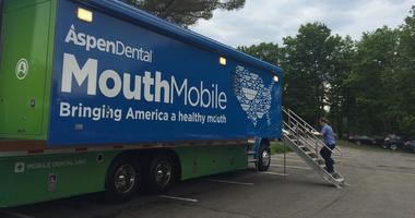 Aspen Dental's Mouthmobile delivers free dental care to veterans