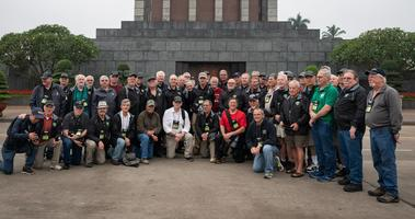 Old Glory Honor Flight participants