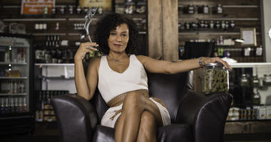 Wanda James, CEO of Simply Pure. The first African American owned cannabis dispensary in Denver, Colorado