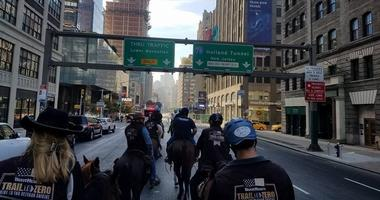 Trail To Zero ride through New York City from 2017