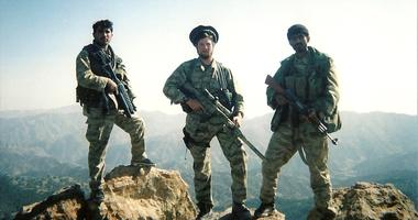 SOFREP co-founder pictured in 2004 in Afghanistan. Murphys memoir Murphys Law is available now