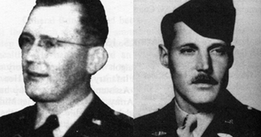 Major Dale Ruis and Master Sgt Chester Ovnand