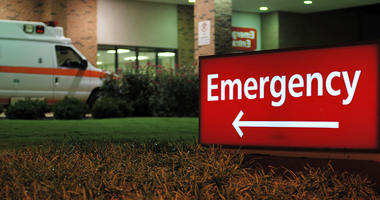 Emergency room, ambulance