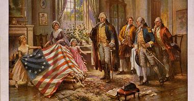 Ross, Washington, flag