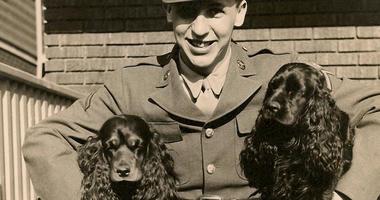 Vincent J Rogers and pups