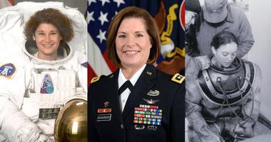Susan Helms, Lt. Gen. Laura Richardson, Donna Tobias