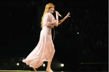 Florence and the Machine performs live in concert at the Manchester Arena