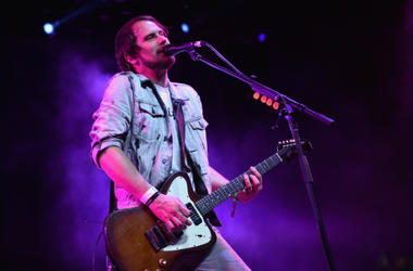 Brian Aubert of Silversun Pickups perform onstage during day 2 of the 2016 Coachella Valley Music & Arts Festival