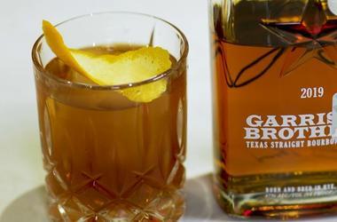 Manhattan with Garrison Brothers Bourbon