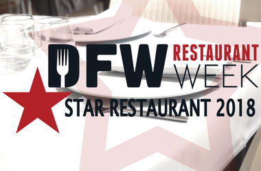 DFW Restaurant Week Star Restaurants 2018