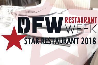 DFW Restaurant Week Star Restaurants 2018