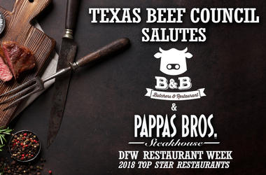 DFW Restaurant Week Star Restaurant: Pappas Bros. Steakhouse