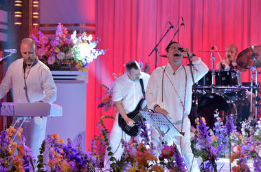Faith No More performs on 'The Tonight Show Starring Jimmy Fallon' at Rockefeller Center on May 13, 2015