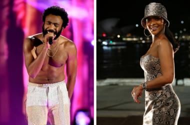 Childish Gambino and Rihanna