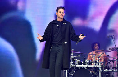6/9/2018 - G-Eazy during Capital's Summertime Ball with Vodafone at Wembley Stadium, London. This summer's hottest artists performed live for 80,000 Capital listeners at Wembley Stadium at the UK's biggest summer party.