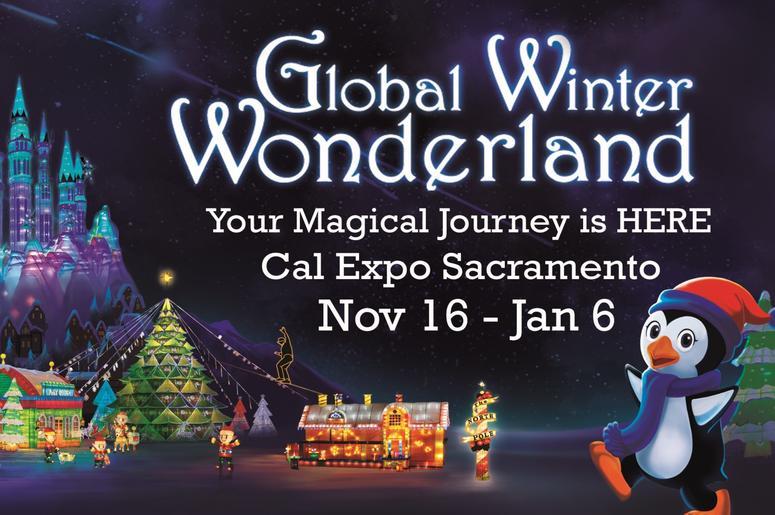 Cal Expo Christmas Lights.Global Winter Wonderland 2018 End Online 106 5 The End