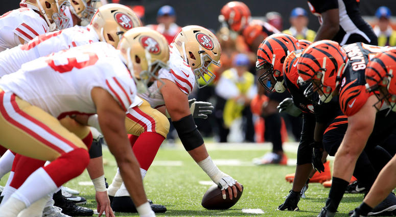 The 49ers dominate the Bengals in a 41-17 win on the road