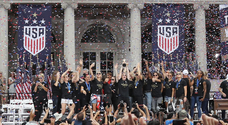 U.S. Women's Soccer Team Celebrates with a Ticker Tape Parade … But They Must Get Ready for the Next Big Battle!